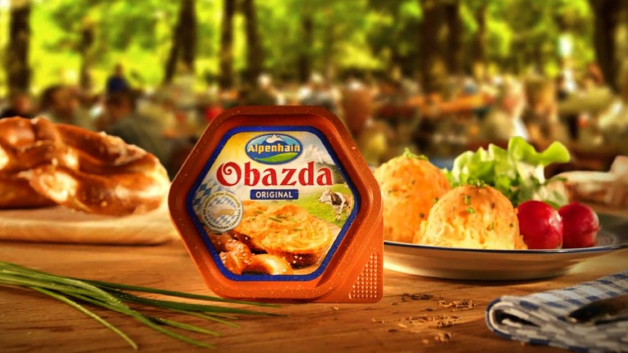 Alpenhain Obazda TV-Sponsoring
