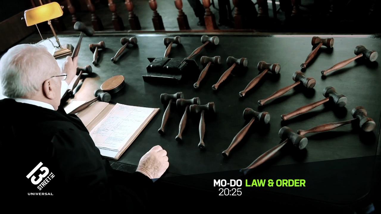 "13th Street Law & Order ""Judge"""