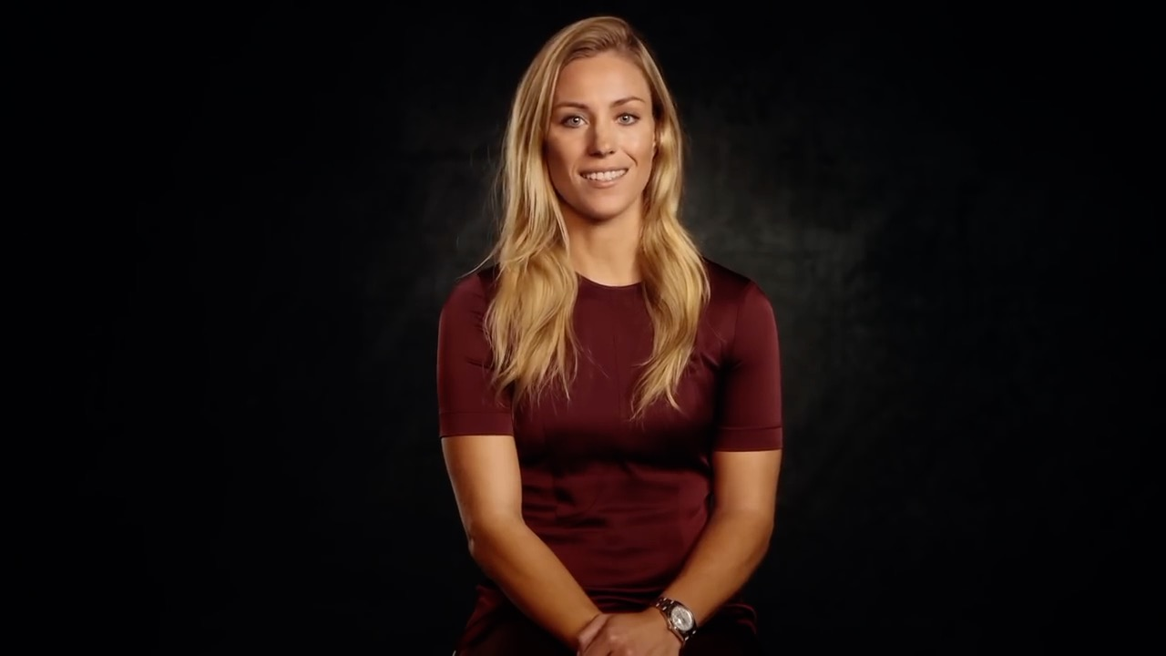 "ELLE / ROLEX Angelique Kerber ""Inspiring Stories"""